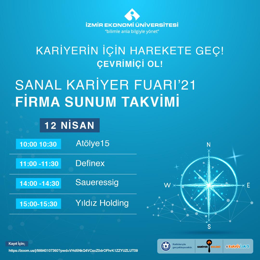 SANAL KARİYER FUARI'21